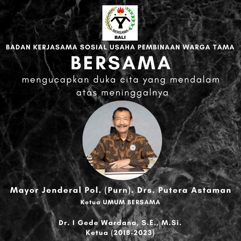Duka Mayor Jendreral Drs Putera Astaman