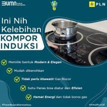Kerja Sama PLN dan BTN DukungGerakan Konversi Satu Juta Kompor LPG ke Kompor Induksi
