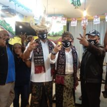 "Ofalangga Anugerahkan ""Tiilangga"" kepada Paslon Amerta Jadi Walikota Denpasar"