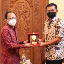 Selaku Forkopimda Bali, Pangdam Maruli Simanjuntak Awali Silaturahmi ke Gubernur Koster