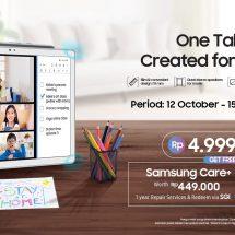 Samsung Galaxy Tab A7: Satu Gawai, Solusi untuk Semua