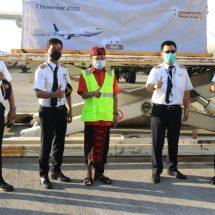 Sambut Baik Ekspor Komoditas Lokal, Gubernur Koster Lepas Penerbangan Perdana Cargo Flight Denpasar-Hongkong