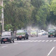 Jelang Akhir Tahun, Pemkot Kerahkan Spraying dan Mobil Calling
