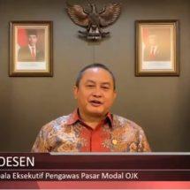 Kurangi Dampak Covid-19, Hoesen: OJK Kembali Akan Keluarkan Kebijakan Stimulus untuk Jaga Stabilitas Pasar Modal Indonesia