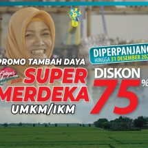 """Diskon Tambah Daya """"Super Merdeka"""" untuk UMKM dan IKM Diperpanjang Hingga Desember 2020"""
