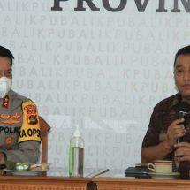 Kenalkan Diri, Kapolda Putu Jayan Kunjungi KPU Bali