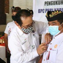 Wagub Cok Ace Kukuhkan Pengurus BPC PHRI Jembrana
