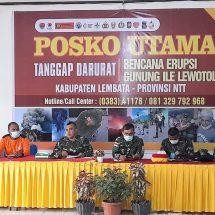 Kodam Udayana Laksanakan Misi Kemanusiaan Erupsi Gunung Api Ile Lewotolok di Lembata