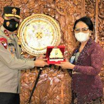 Pererat Kerja Sama, Kapolda Bali Kunjungi Universitas Udayana