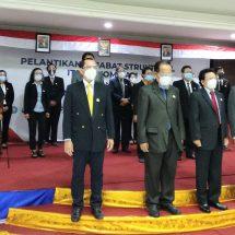 Rektor Dr. Dadang Hermawan Lantik Pejabat Struktural ITB STIKOM Bali