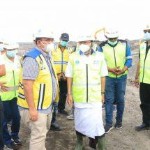 Gubernur Koster Tinjau Perkembangan Pembangunan Kawasan Pusat Kebudayaan Bali di Desa Gunaksa Klungkung