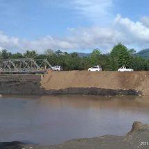 Pasca-putus Dihantam Banjir, Jembatan Tiabo di Halmahera Utara Sudah Bisa Dilalui Kendaraan