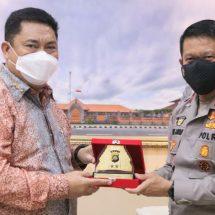 Kunker Pertama Ke Pulau Bali, Kepala BNN Temui Kapolda Jayan Danu Putra