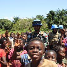 "Satgas TNI XXXIX-B RDB/MONUSCO Bantu ""Trauma Healing"" Masyarakat dan Anak-Anak di Kongo"
