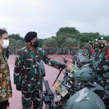 Panglima TNI: Tenaga Vaksinator TNI Siap Diperbantukan Ke Kementerian Kesehatan RI