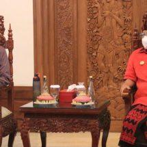 Menparekraf-Gubernur Koster Bahas Soft Loan Bagi Pelaku Pariwisata dan Parekraf