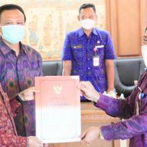 Rai Mantra -Jaya Negara Purna Tugas, Made Toya Ditunjuk Jadi Plh. Walikota Denpasar