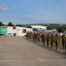 161 Personel Kontingen Garuda Tiba di Beirut Lebanon