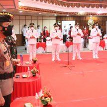Kapolda Bali hadiri Pelantikan Walikota/Bupati dan Wakil di Wiswasabha