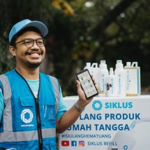 Aplikasi Siklus Refill Tawarkan Solusi Isi Ulang Produk Rumah Tangga Lebih Murah dan Ramah Lingkungan