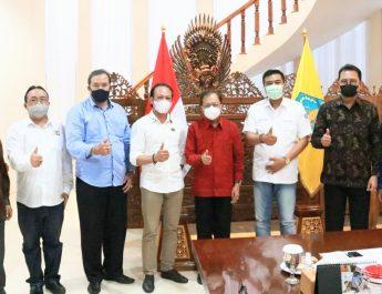 Kepada Gubernur Koster, Dua DPD ASITA di Bali Nyatakan Siap Bersatu