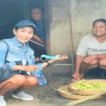 Peduli Sosial Pengusaha Dewi Supriani, Bantu Bedah Rumah Nenek Lumpuh di Asah Duren Jembrana