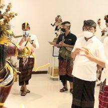 Buka Pameran Ogoh-ogoh, WalikotaJaya Negara Wadahi Kreativitas Generasi Muda Denpasar