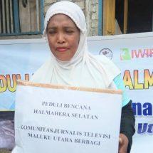 Pasca-Gempa, KjtvMalut Bersama IWIP Salurkan Bantuan Sembako kepada Warga Terdampak