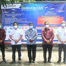 Para Bupati dan Walikota Presentasi Komitmen Pelayanan Publik di Kantor Ombudsman Bali