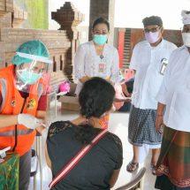Hari ke-9, Vaksinasi di Zona Hijau Sanur Tembus 30.389 Orang
