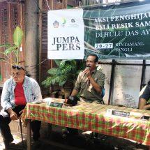Aksi Penghijauan DAS Ayung Bertepatan Tumpek Wariga, Tanam Tiga Ribu Lebih Bibit