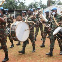 Farewell Parade Iringi Purna Tugas Force Commander MONUSCO