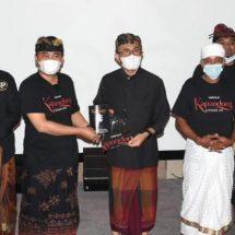 """Geliat Dunia Perfilman Kota Denpasar di Tengah Pandemi, Film """"Kapandung"""" Tayang Perdana Trailer di Dharma Negara Alaya"""