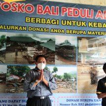 Lamaholot Bali Dirikan Posko Peduli Banjir Adonara