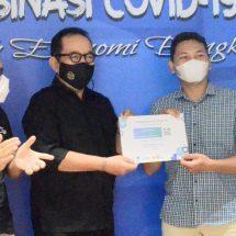 600 Ribu Penduduk Bali Terima Vaksin Covid-19 Tahap Pertama