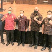 Dihadiri Gubernur Bali dan Wawali Denpasar, De Gajah Dilantik Jadi Ketua Pertina Bali