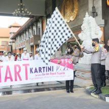 Kapolda Lepas Gowes Kartini-Kartini Polda Bali