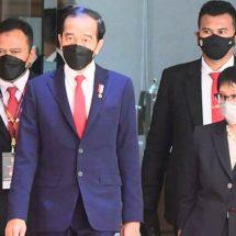 Presiden Jokowi Hadiri ASEAN Leaders' Meeting di Sekretariat ASEAN
