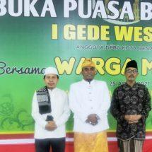 Pererat Tali Silaturahmi, IGW Gelar Buka Puasa Bersama Warga Muslim Denpasar
