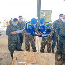 Personel TNI Satgas SEMPU UNIFIL Lakukan Luggage Check Rotasi Kontingen Spanyol