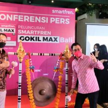 """Smartfren Luncurkan """"Gokil Max"""" di Bali"""