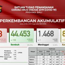 Update Penanggulangan Covid-19 di Bali, Pasien Sembuh Melonjak