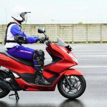 Ini Tujuh Jurus Atasi Pegal-Pegal Saat Riding Ergonomi Bersama Honda PCX160