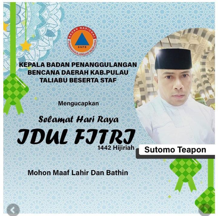Ucapan Selamat Hari Raya Idul Fitri 1442 Hijriah Sutomo Teapon