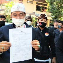 Lengkapi BB Dumas, Ketua MKKBN Kembali Datangi Polda Bali