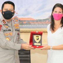 Tingkatkan Kerja Sama Penanganan Kejahatan Cyber, INL United States Embassy Datangi Polda Bali