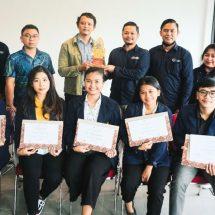 Pelepasan Mahasiswa MBKM dari LBH Lingkar Karma kepada Fakultas Hukum Unud