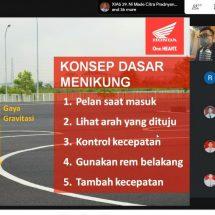 Webinar #Cari_Aman Selamat di Jalan Bersama Honda dan SMA Negeri 5 Denpasar