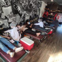 Rayakan Hari Jadi 8 Tahun, Komunitas HSFCI Lakukan Donor Darah Dan Ngopi Santuy di Suka Kopi