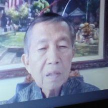 Reses Dr. Mangku Pastika, M.M., Ke Depan Ekonomi Bali Harus Seimbang